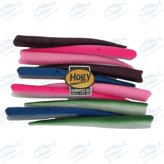"Hogy - Harness Speed Tail 8"" (10pack) Mix Colors UV - KBE Anglers Hub"