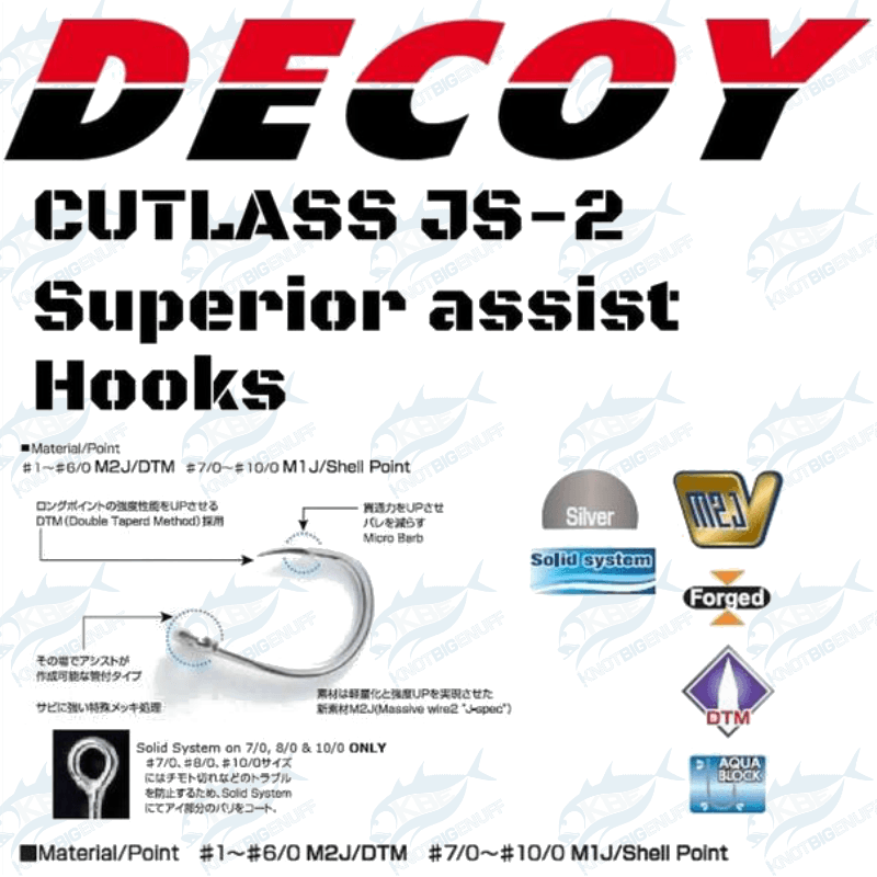 Decoy Heavy Single Cutlass JS-2 - KBE Anglers Hub