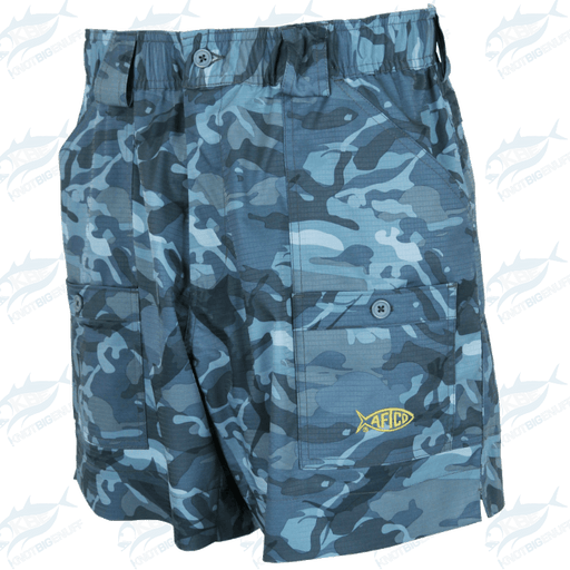 AFTCO Camo Original Fishing Shorts Style #ME2 - KBE Anglers Hub