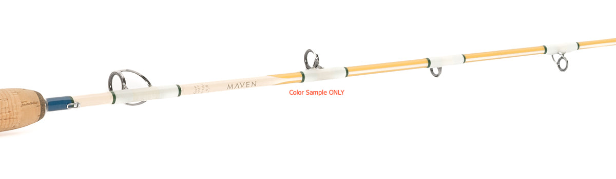 Maven Pacific Mechanical Jig 5'6″ Spiral Wrap Rod PE3-5 - KBE Anglers Hub