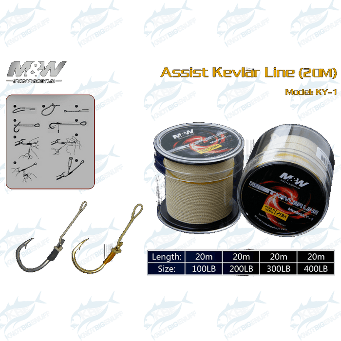 M&W Assist PE Line (Hollowcore) - KBE Anglers Hub