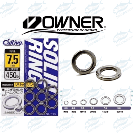 Owner Solid Ring P-14 - KBE Anglers Hub