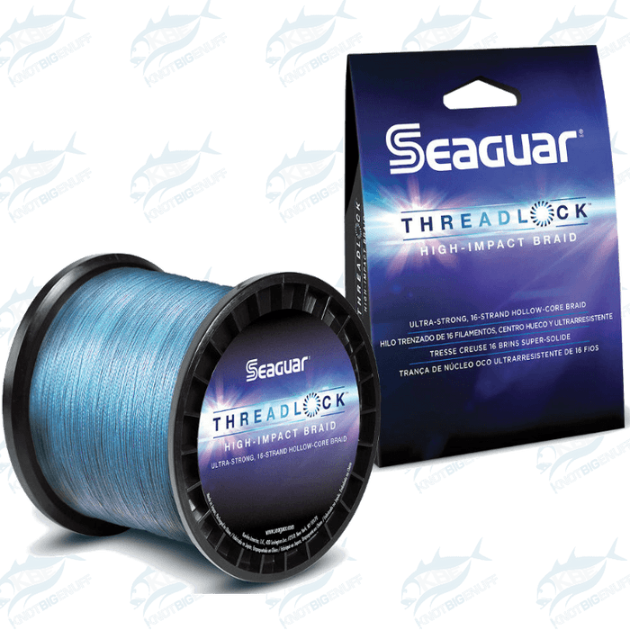 Seaguar Kureha - Threadlock Hollow Core Braid Blue - KBE Anglers Hub