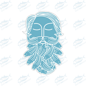 Loon Bearded Sticker