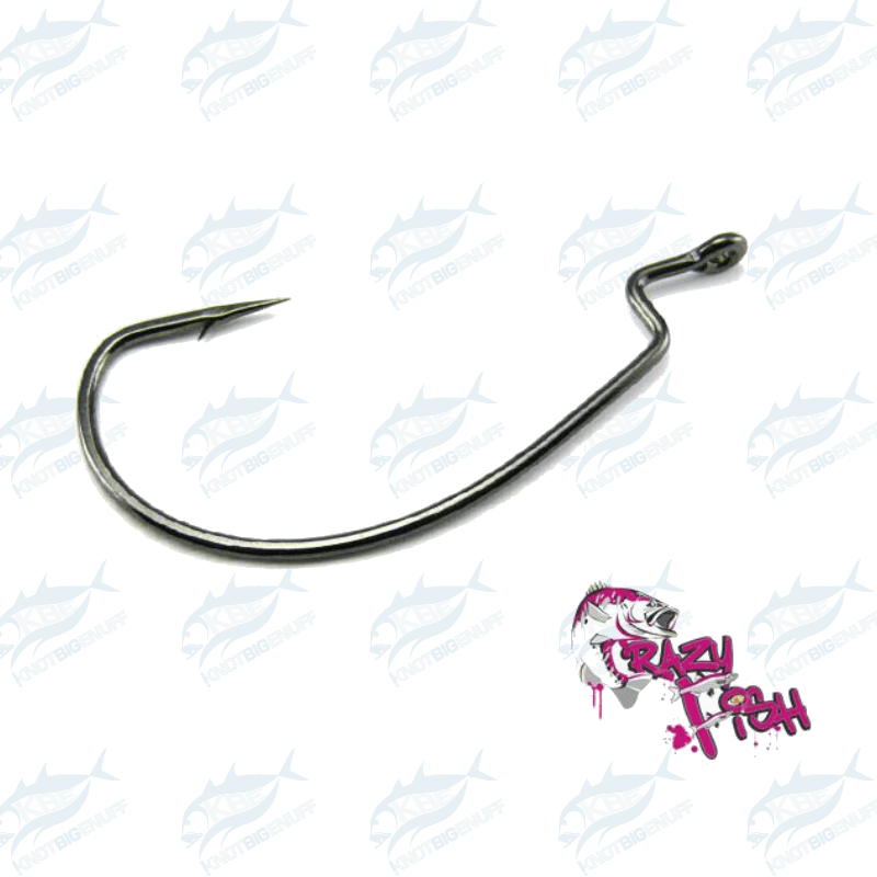 Crazy Fish WR Offset Joint Hook - KBE Anglers Hub