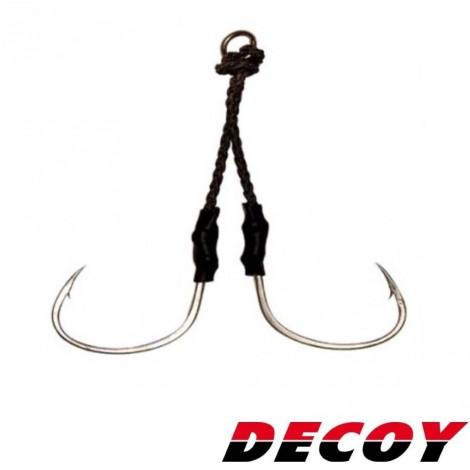 Decoy Twin Pike Assist Hook DJ-88 - KBE Anglers Hub