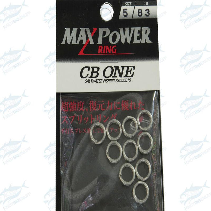 CB One Split Ring - KBE Anglers Hub