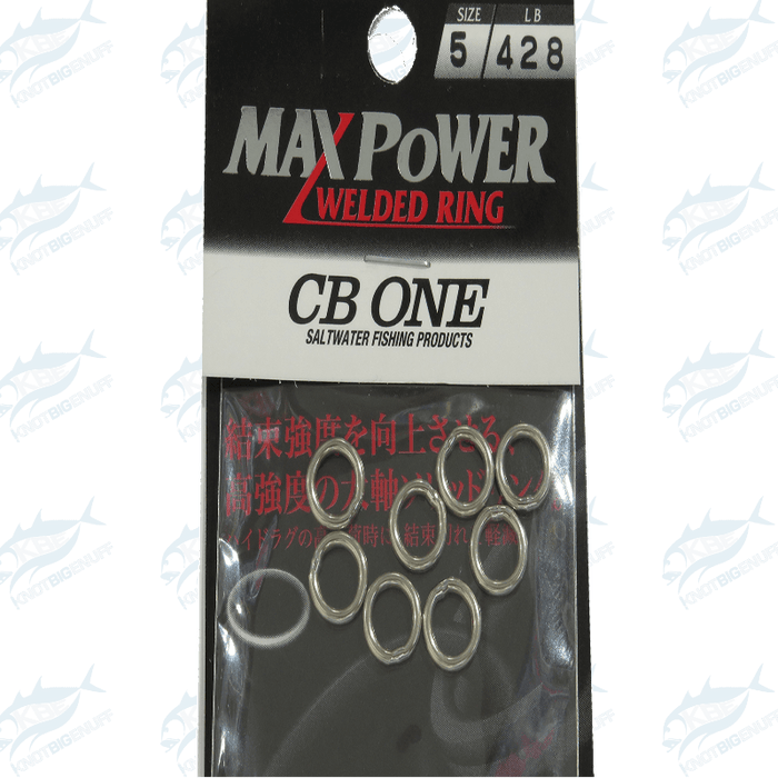 CB One Max Power Welded Ring - KBE Anglers Hub