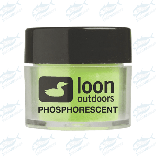 Loon Fly Tying Powder - Phosphorescent - KBE Anglers Hub