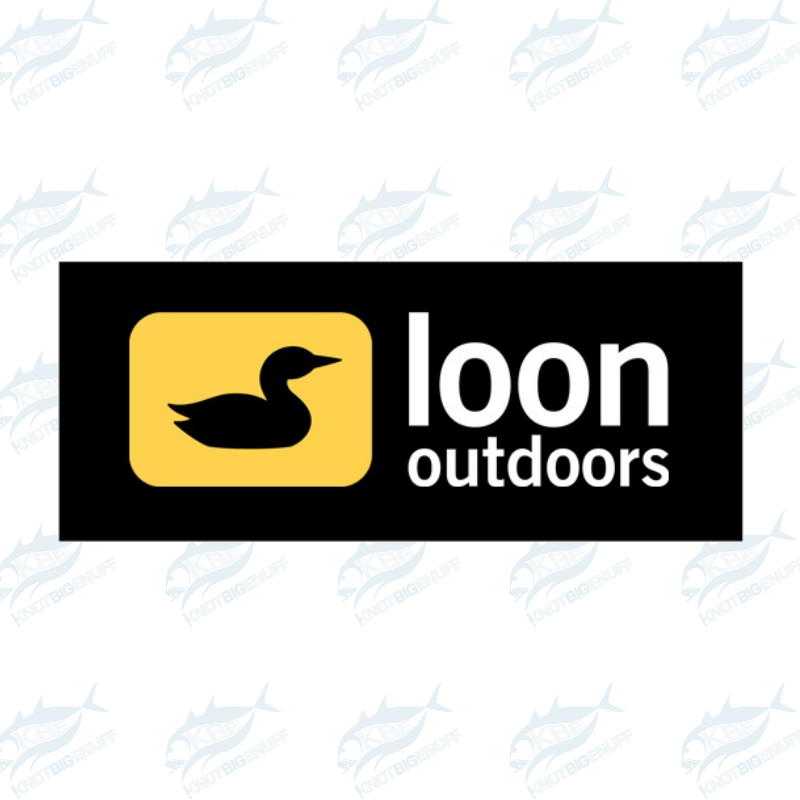 Loon Sticker - KBE Anglers Hub