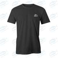 Chasing Fin SW Spine T-shirt Dark Heather - KBE Anglers Hub