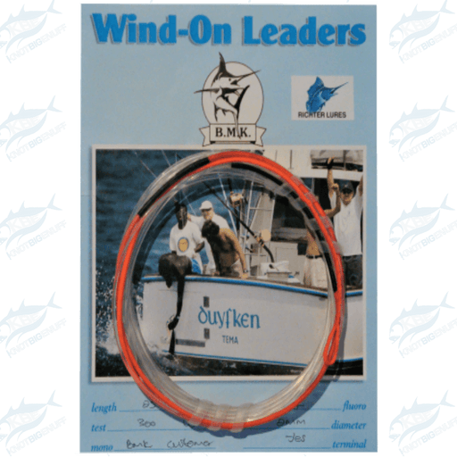 Richter BMK Wind-On Leader - KBE Anglers Hub