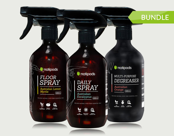 Natipods special Cleaning Spray bundle offer