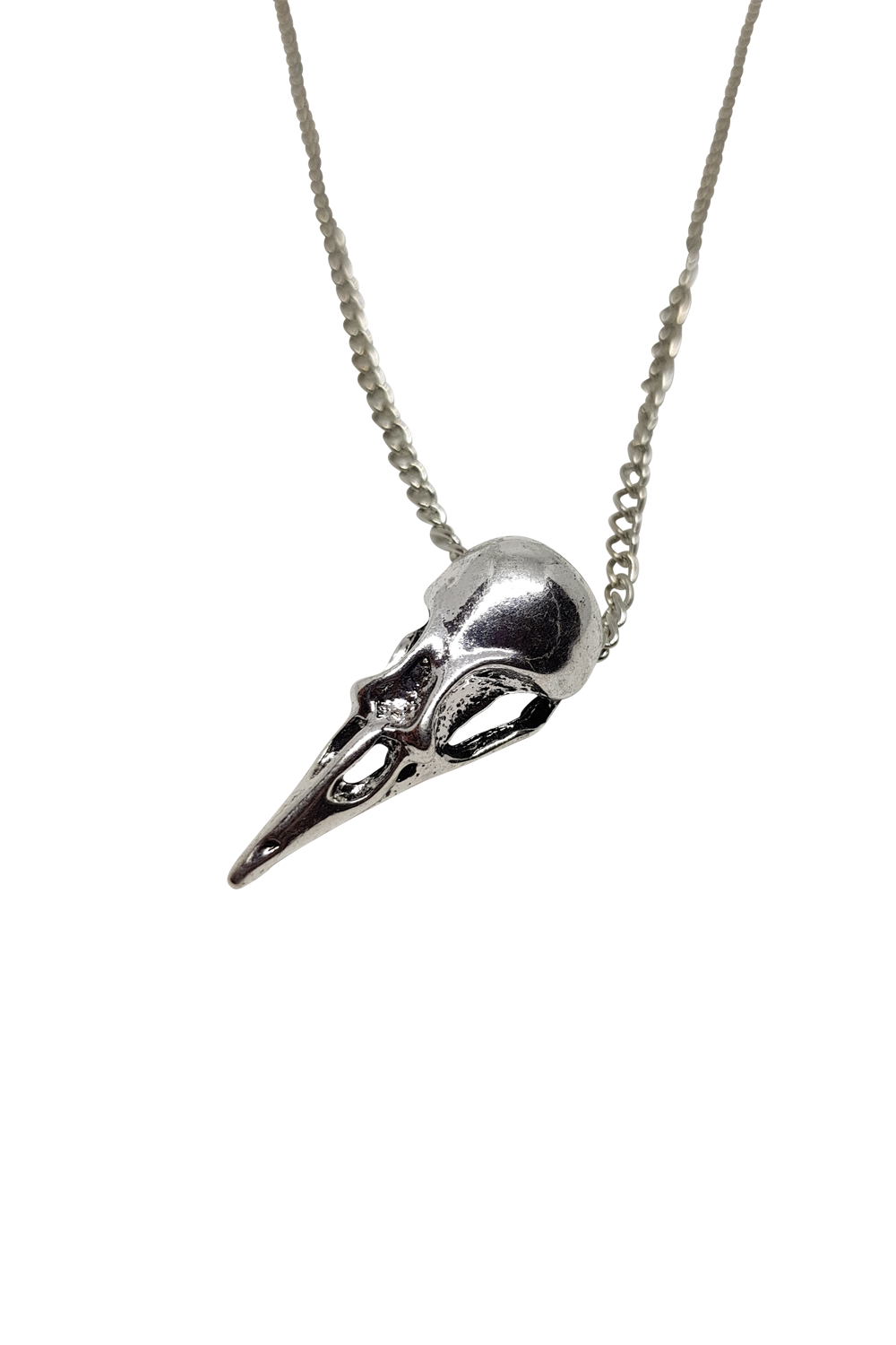 Hummingbird Skull Necklace