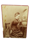 Victorian Woman Cabinet Card