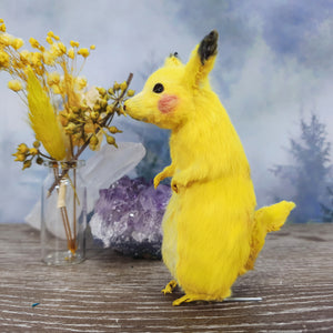 """Pikachu"" Taxidermy Mouse"