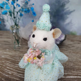 """The Princess"" Taxidermy Mouse"