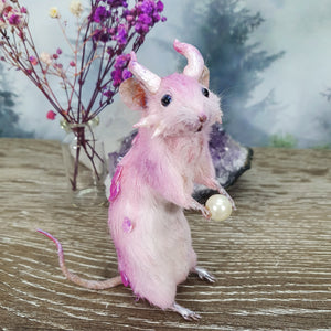 """The Dragon"" Taxidermy Mouse"