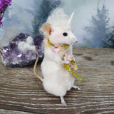 """The Unicorn"" Taxidermy Mouse"