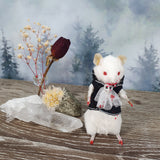 """The Vampire"" Taxidermy Mouse"