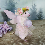 """The Fairy"" Taxidermy Mouse"
