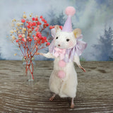 """Pierrot The Clown"" Taxidermy Mouse"