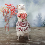 """The Lady"" Taxidermy Mouse"