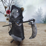 """The Reaper"" Taxidermy Mouse"