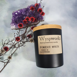 Forest Witch - Wyspworks Candle Jar