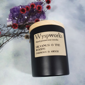 Silvanus o' The Woods - Wyspworks Candle Jar
