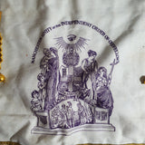 Independent Order of Oddfellows Manchester Unity Velvet Apron