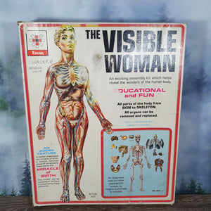 1960 Renwal Visible Woman Kit