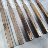 Set of 6 Antique Orthopedic Downs Surgical Ltd Chisels and Gouges