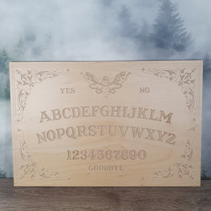Decorative Moth Ouija Board - Birch 450mm