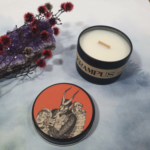Krampus - Wyspworks Yuletide Candle Tin