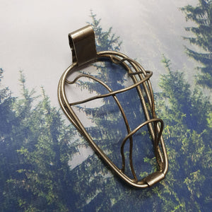 Antique Wire Frame Anaesthesia Mask