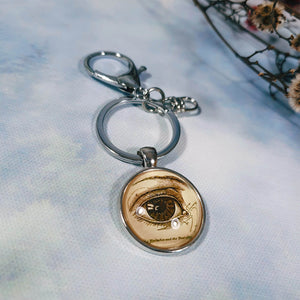 Anatomical Eye Keyring