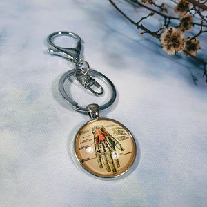 Anatomical Hand Keyring