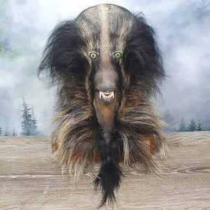 Blue Mountains Bush Booger Taxidermy Mount - Dark with Fangs