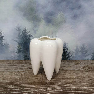 Ceramic Tooth Planter