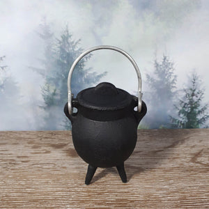 Cast Iron Mini Cauldron