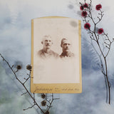 Two Young Men Cabinet Card