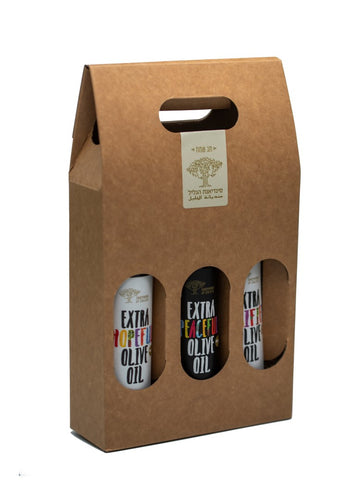 Boutique Olive Oil Gift Set - Three 250 ml Bottles