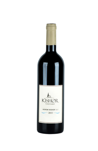 Kishor Winery Red 2015 - Kosher