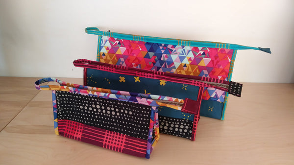 the Kinley Pouch sewing pattern = Options!!