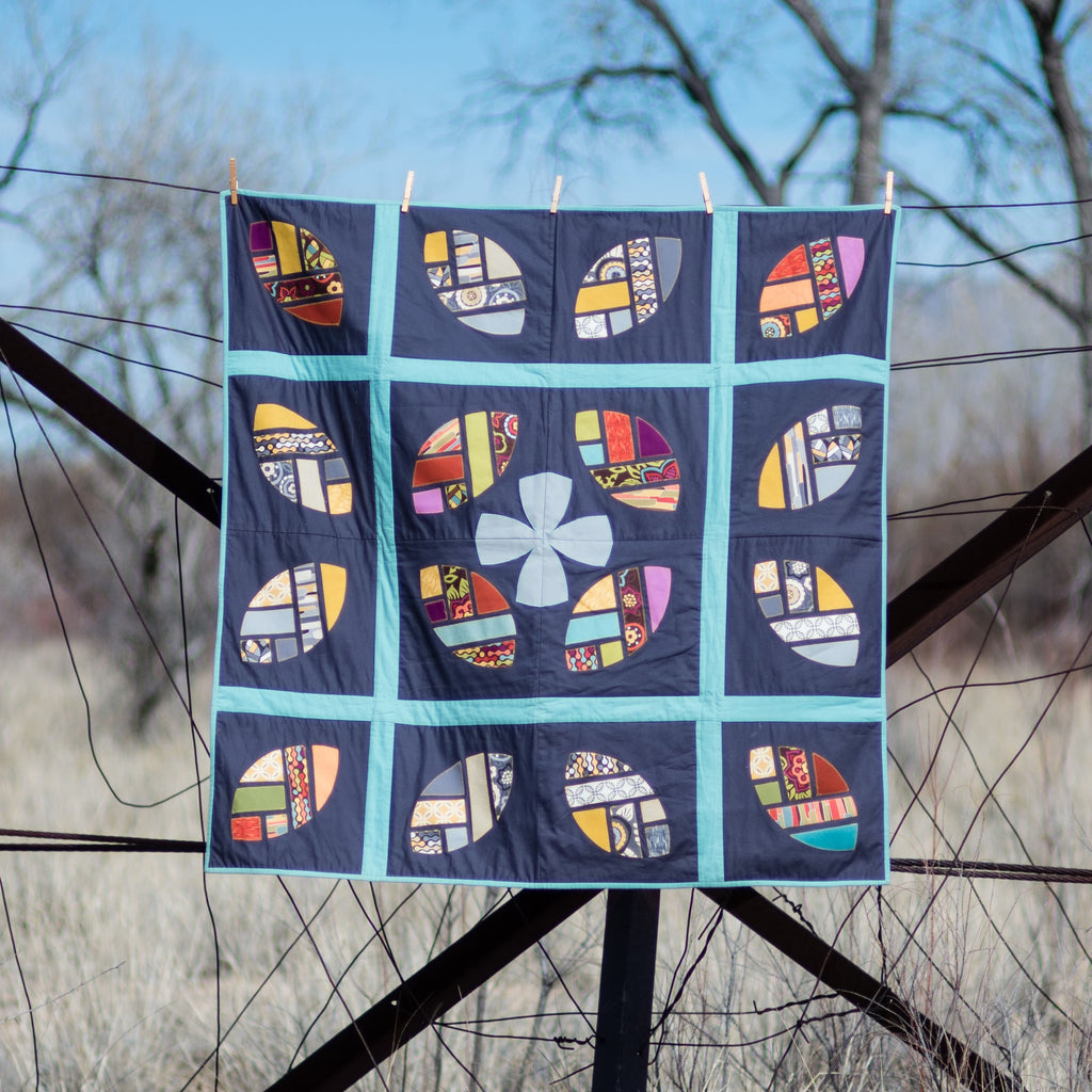 New Pattern: Bosque Leaves Quilt Pattern