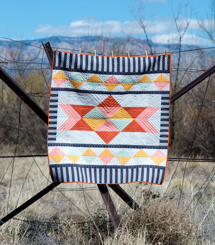New Pattern: Prismatic Quilt