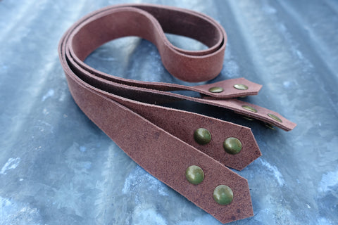 leather strap kit from Jen Fox Studios