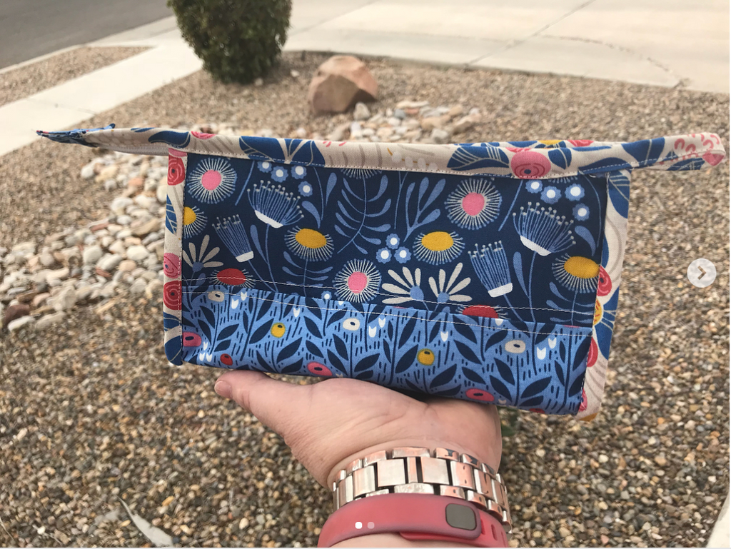 Kinley Pouch sewing pattern by Jen Fox Studios
