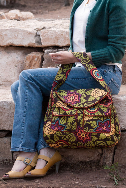 Pocket Tote Sewing Pattern - PDF